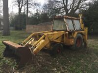 JCB 3C2 Year 1973 breaking for spares PRIVATE SALE NO VAT