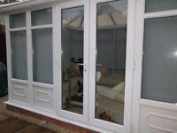 Brand New PVC Conservatory Doors