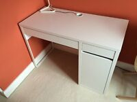 White Desk IKEA