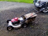 Honda Lawnflite 553 HWS Professional 21 inch lawnmower, 2 speed self propelled.