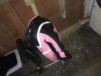Ladies bike leathers