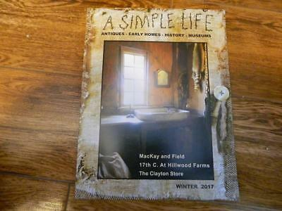 A Simple Life Winter 2017 primitive country magazine