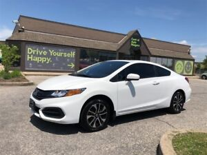 2014 Honda Civic Coupe EX / SUNROOF / HEATED SEATS / ALLOY RIMS