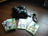 Xbox 360 super slim (newest model), 228GB, 3 controllers, headset, 5 games - Highbury North London