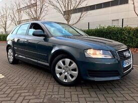 Audi A3 1.9 TDI Sportback 5dr 2008 - fantastic drive for sale with good mileage