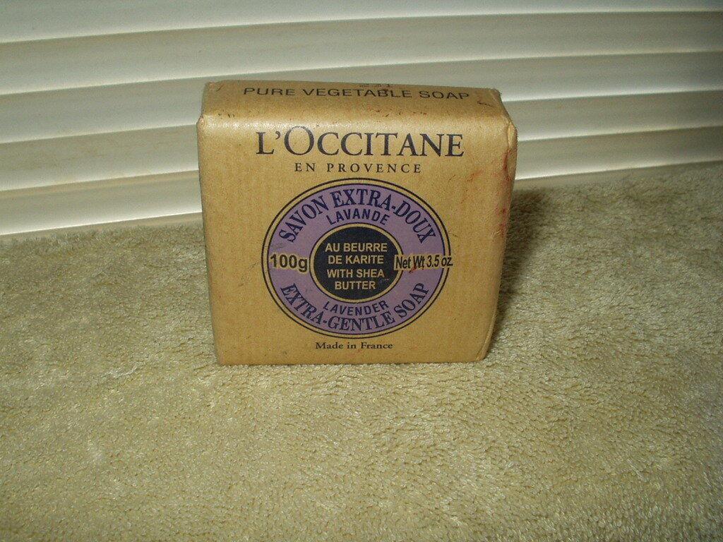 L'Occitane Shea Butter Extra Gentle Soap - Lavender 100g/3.5