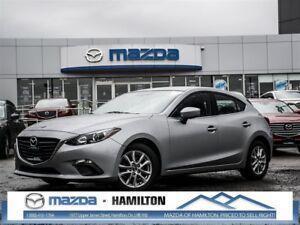 2014 Mazda MAZDA3 SPORT GS, ACC-FREE, CPO, 0.9%, BLUETOOTH, AUTO