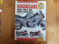 HAYNES MANUAL (1681) - KAWASAKI ZX900, 1000 & 1100