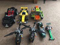 Selection of Lego models
