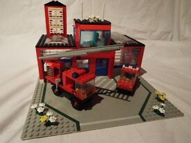 Lego set 6385 Fire House