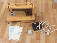 Frister Rossmann64 sewing machine with foot pedal