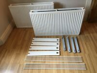 DOUBLE RADIATOR 1000mm/ 1 METER LONG