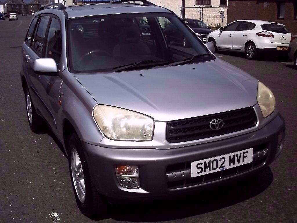 2002 02 TOYOTA RAV-4 2.0 GX 5 DOOR ** FULL SERVICE HISTORY ** MOT MAY 2017 **