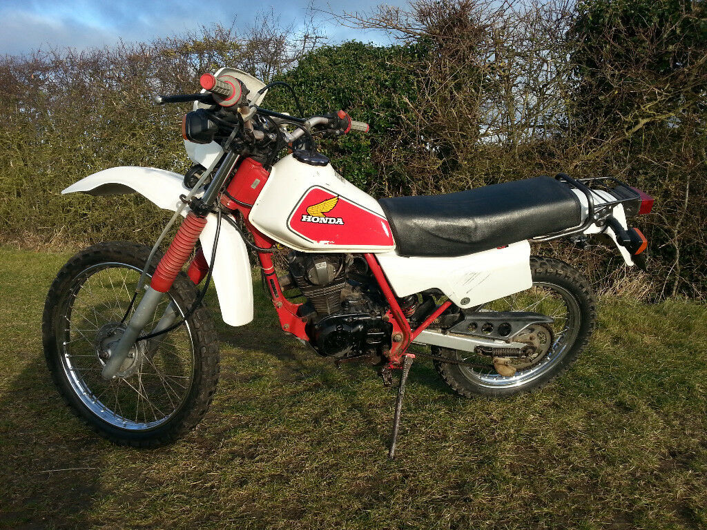 Honda Xl 125 Rc 1982  Mot  Road Legal  Good Condition For