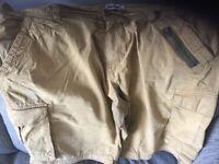 48 inch waist men's cargo shorts