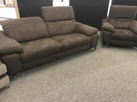 Natuzzi 3str Sofa & Chair