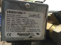 Honeywell 2 Port Heating Valves x2