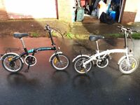 2 folding bike ****only used once****