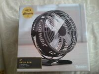 New 8 inch desk fan in box