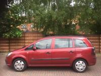 2006 VAUXHALL ZAFIRA LIFE 1.6 PETROL GENUINE LOW MILEAGE AND EXCELLENT FAMILY 7 SEATER MPV BARGAIN