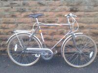 Emmelle Wayfarer Traditional Retro Hybrid Bike Large Size in excellent condition