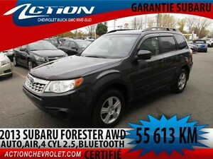 2013 Subaru FORESTER 2.5 X,AUTO,AIR,BLUETOOTH