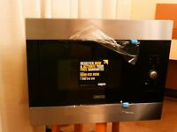 NEW Zanussi ZBM26542XA integrated microwave - black/stainless steel