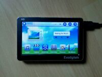Evodigital mp3, mp4 player,touch screen 16gb