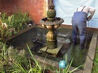 Fish/ Koi Pond- maintenance, Cleaning, Repairs and Supplies by 'Pond Perfection'