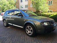 2004 Audi ALLROAD 2.5 tdi diesel automatic satnav ,a4 ,a6 , Px welcome , fully loaded