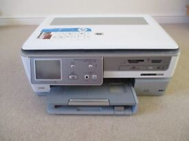 HP C8180 Photosmart All-In-One Wi-Fi Printer + Some spare inks and Lightscribe discs