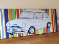 Large Picture Canvas of a Mini