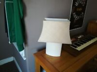 Laura Ashley cream lamp