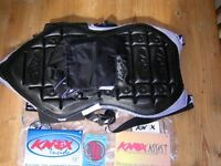 Knox motorcycle protector size small used once for biking trip. Like new.