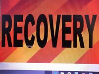 VEHICLE RECOVERY/COLLECTION/BREAKDOWN SERVICE... CARS/ SWB VANS..ESTATES..ETC