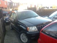 Jeep Grand Cherokee 2.7 CRD merc engine Limited spares repair £555 will brake IDEAL EXPORT