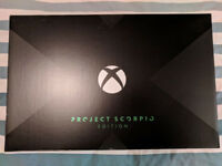 XBOX ONE X PROJECT SCORPIO EDITION 1TB