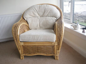2 Comfortable Conservatory Chairs