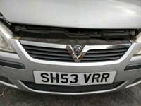 Corsa c bumper and grill