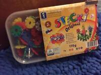 Sticki construction blocks