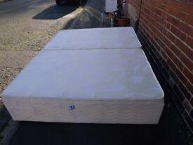 Silentnight king size double drawer base divan