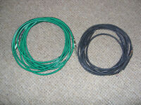 Fender and Proel guitar/instrument leads