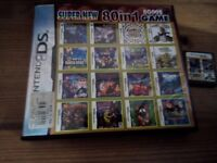 80 in 1 DS & DS Lite gaming card