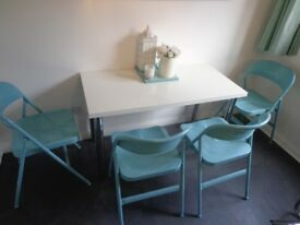 Set of 4 Ikea Dinning Chairs (very good condition) £40 for the set.