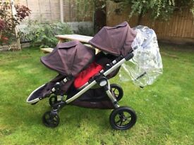 Baby jogger city select with accessories and bassinet