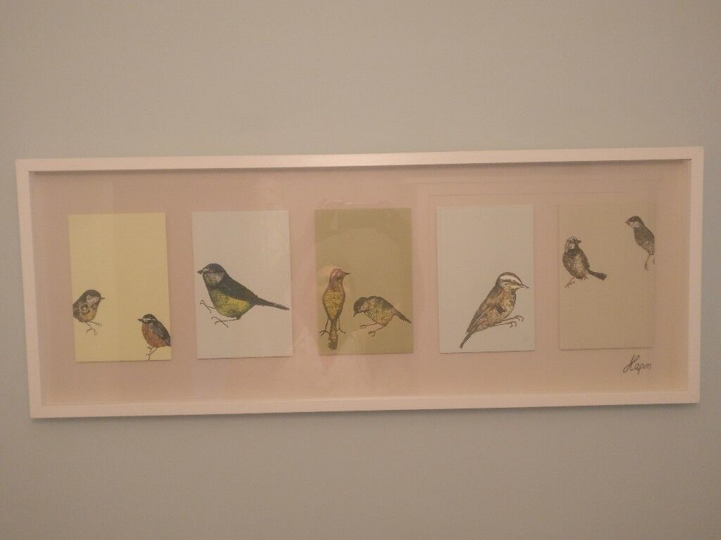 Ikea bird picture and frame | in Wandsworth, London | Gumtree