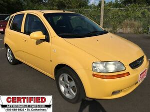 2007 Chevrolet Aveo LT ** CRUISE, SUNROOF **