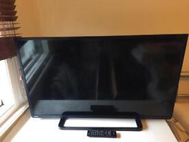 "Toshiba 40l2433d 40"" Full HD 1080p Freeview USB Backlit with Toshiba sb3950e1 40 watt surround sound"