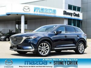 2018 Mazda CX-9 GT Nav Heated Seats Moonroof Rear Cam Leather