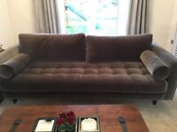 2 x Scott Sofas / couches from Made
